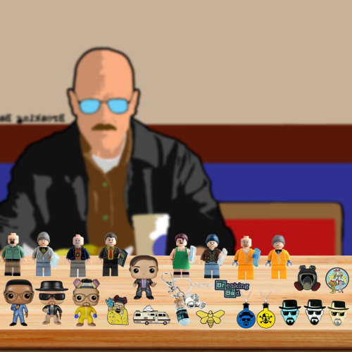Breaking Bad Advent Calendar -- The One With 24 Little Doors