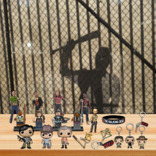 The Walking Dead Advent Calendar -- The One With 24 Little Doors