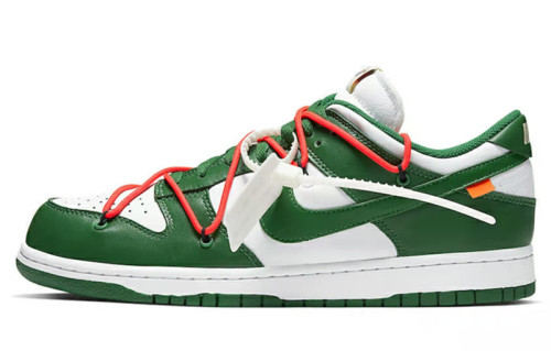 Off-White x Nike Dunk Low LTHROW