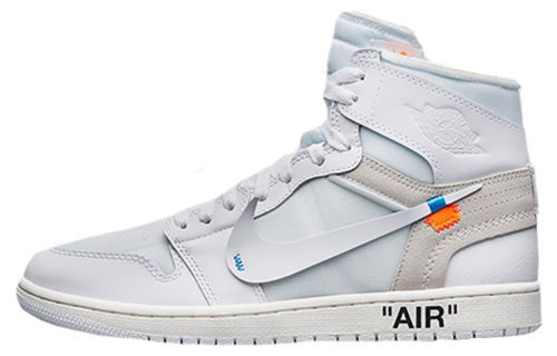 Off-White x Air Jordan 1 Retro High White the ten