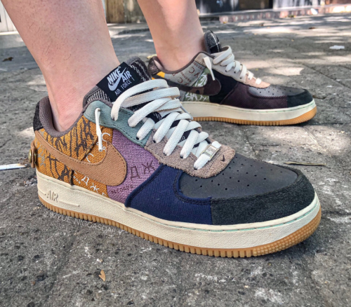 Travis Scott X Nike Air Force 1 Cactus Jack TS