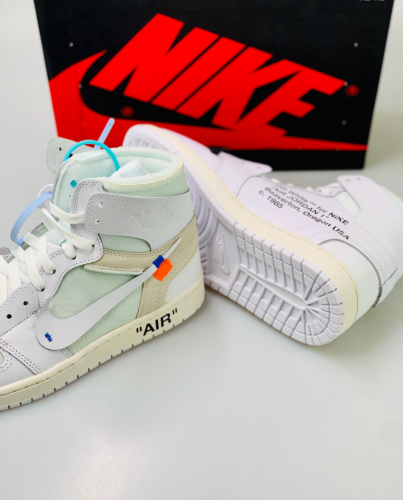 Off-White x Air Jordan 1 Retro High White the ten