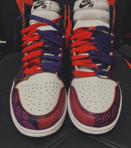 Air Jordan 1x Nike SB High OG Court Purple