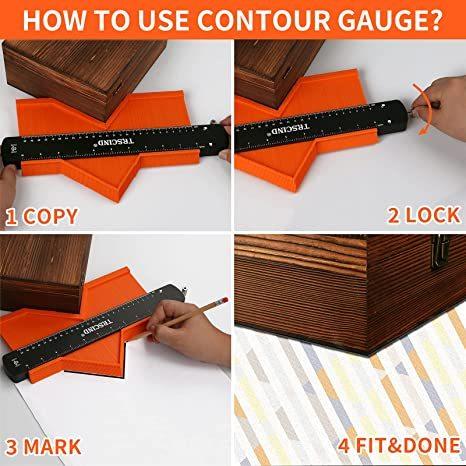 Contour Gauge Profile Tool
