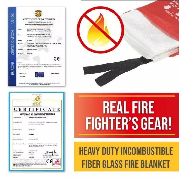 Emergency Fire Blanket Must-Have Emergency Tool