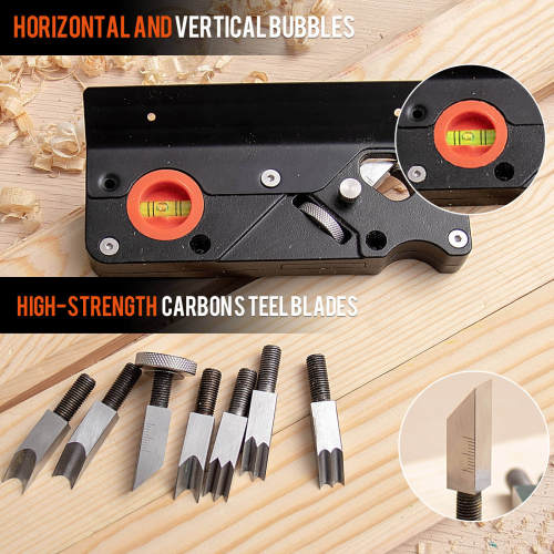 Chamfer Plane for Woodworking