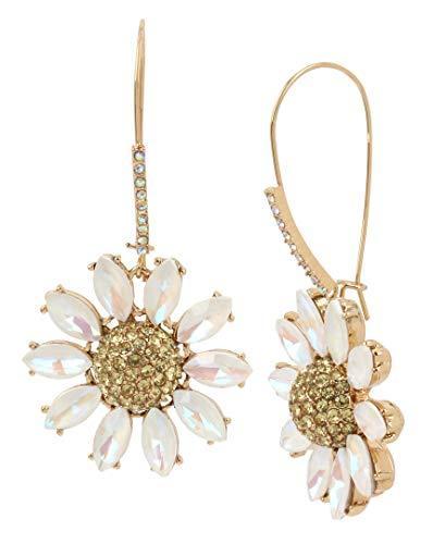 Beautiful Flower Drop Earrings