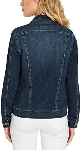 Womens Knit Denim Jacket