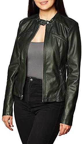 Women's Faux Leather Jacket