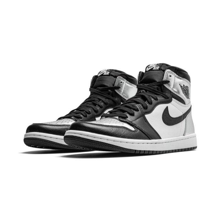 "Air Jordan 1 Retro High OG WM ""Silver Toe"""