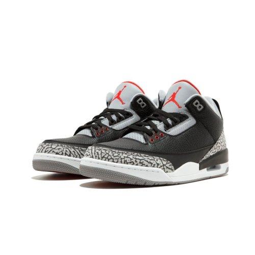 "Air Jordan 3 Retro OG ""Black/Cement"""