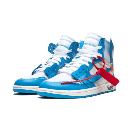 "Air Jordan 1 Retro High ""Off-White – UNC"""