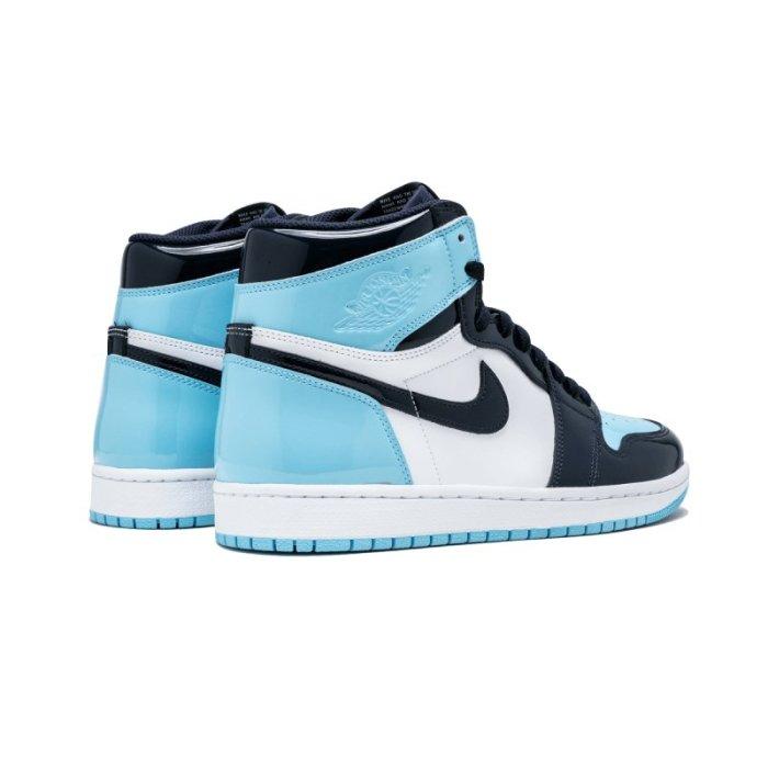 "WMNS Air Jordan 1 High OG ""UNC Patent Leather"""