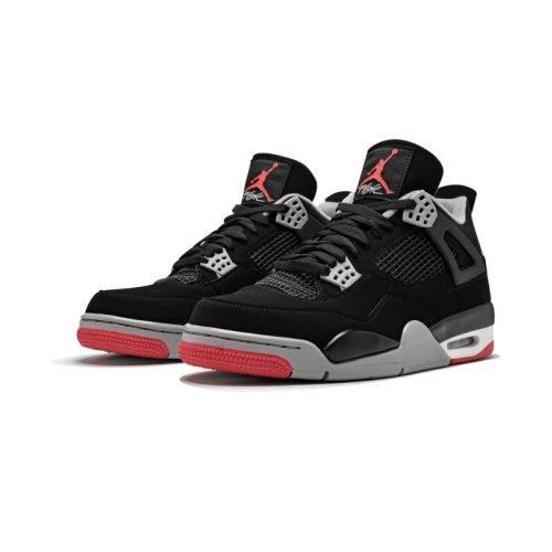 """Air Jordan 4 Retro """"Bred 2019 Release"""""""