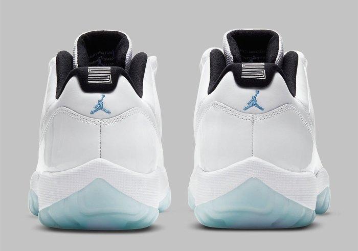 "The Air Jordan 11 Low ""Legend Blue"""