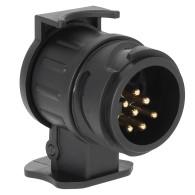12V 13 To 7 Pin Trailer Socket Adapter Waterproof