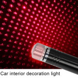 Car Roof Ambient Light Interior Star Laser USB LED Auto Decoration Projector