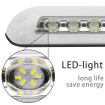 Waterproof Awning Porch LED Light Outdoor Camping Lamp Boat RV Caravan Universal