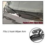 U-type Rubber Frameless Windshield Window Wiper blade 26''