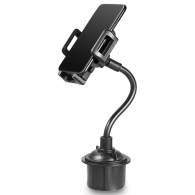 360° Car Adjustable Cup Mount Cradle Holder Stand For iPhone GPS Cell Phone