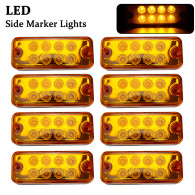 X8 LED Side Marker Light Lamps Universal