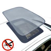 Magnetic Car Sunroof Sun Shade Moonroof Mesh Car Roof Cover Camping Bugs Screen