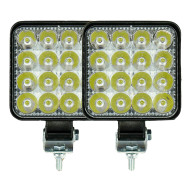 2X 48W LED KFZ Arbeitsleuchte Offroad Scheinwerfer