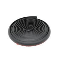 2m 10x8mm Car T Shape Seal Strip Weatherstrip Edge Trim Soundproof Front Bumper