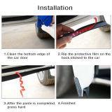 Universal 2M P-shape Car Door Edge Rubber Trim Seal Strip Hollow Weatherstrip