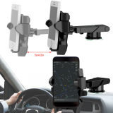 360° Mobile Cell Phone GPS Mount Holder Car Windshield Stand For Apple iPhone