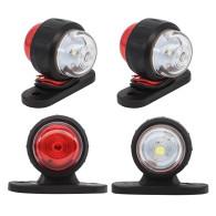 4PCS Trailer LED Side Marker Lighting