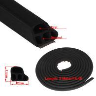 Universal Auto Rubber Door Seal Trim Molding Strip Door Edge Protector All Weather
