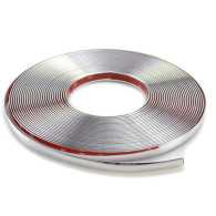 6/12/20mm Car Styling Chrome Interior Decorative Strip Trim Moulding Cover Door Window