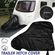 Caravan Trailer Tow Hitch Arm Cover Rain Coat 89x63cm