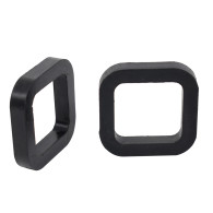 2Pcs 50mm/2inch Trailer Hitch Receiver Tube Silencer Pads, Reduce Rattle Noise, Rubber