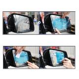 2Pcs Anti Fog Water Car Mirror Clear Film Rearview Mirror Waterproof Rainproof