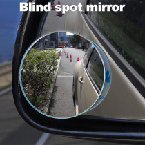 2pcs 360 Degree Small Round Blind Spot Mirror Car Wide Angle Rearview