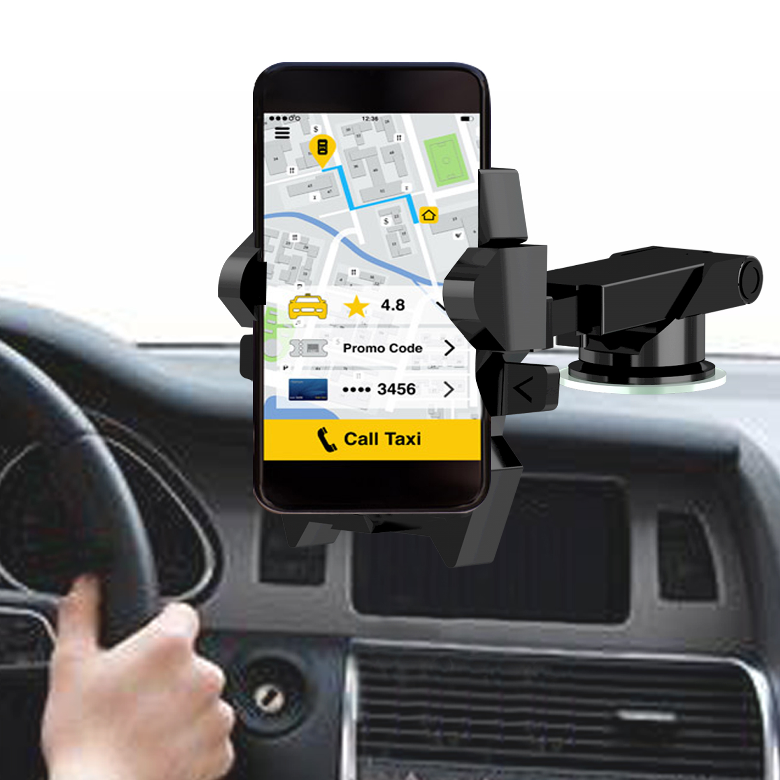 Suction Cup Phone Holder For all smart phone