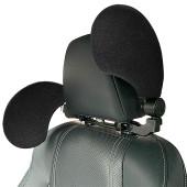 Car Seat Headrest Rest Neck Pillow Sleeping Cushion Sponge U-shaped
