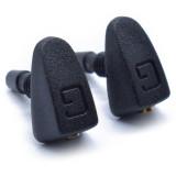 2 Pcs/Set Car Universal Friont Windshield Wiper Nozzle Jet Sprayer Spout Washer