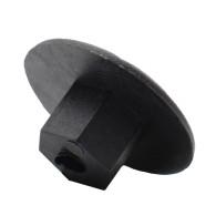 10Pcs 4mm Fastener Nut Fender Mud Flap Splash Guard Wheel Bumper Retainer Clip Rivet