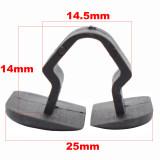 10x 1H5863849A01C Plastic Hood Bonnet Insulation Clip Rivet Retainer