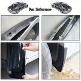 40x Car Plastic Rivet Bumper Fender Retainer Fastener Mud Flaps Push Clips Pin