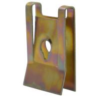 10Pc Car Body Door Panel Fender Fastener Fixed Screw U Type Gasket Metal Clips