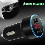 Car Cigarette Charger Socket USB 3.1A Dual Ports Digital LED Light Fast Charging