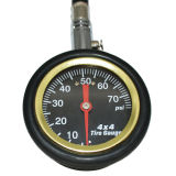 70psi Deflator Air Tyre Pressure Gauge 360 Chuck Caps Tire Tool Deflator