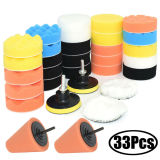 31pcs Car Buffing Pads Foam Polishing Pad Polisher + m10 Drill Adapter Buffer Pads Waxing