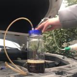 Car Manual Hand Pumping Oil Gasoline Fuel Fluid Diesel Petrol Change Suction 2L
