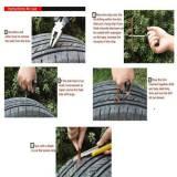 31X Tire Repair Plug Tubeless Patch Tyre Rubber Strip String Self Vulcanizing