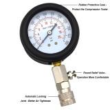 Automotive Petrol Engine Compression Test Tester Kit Gauge Car Motorcycle Tool
